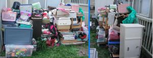 那珂市で冷蔵庫、ソファ等の回収の写真