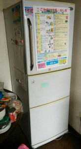 笠間市で冷蔵庫回収の写真