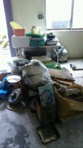 常総市にて、テーブル・イス回収処分のご依頼3