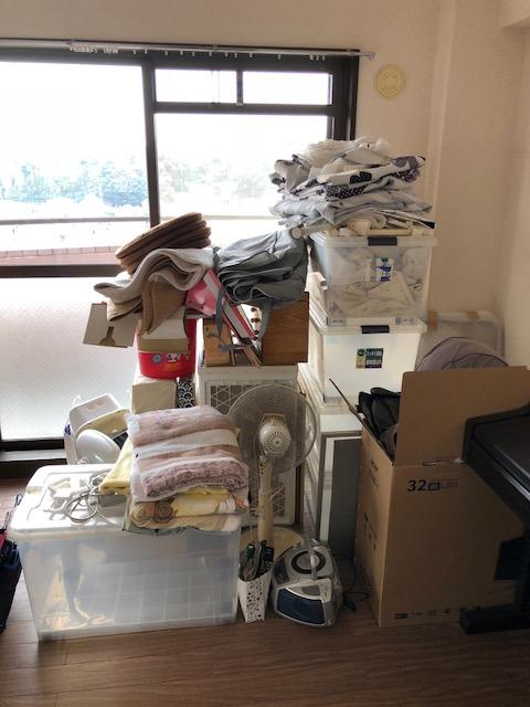 土浦市小松で2tトラック1杯分の不用品回収 施工事例紹介4