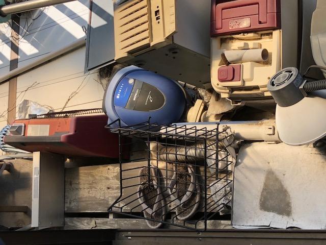 取手市西でテレビ、掃除機などの不用品回収 施工事例紹介