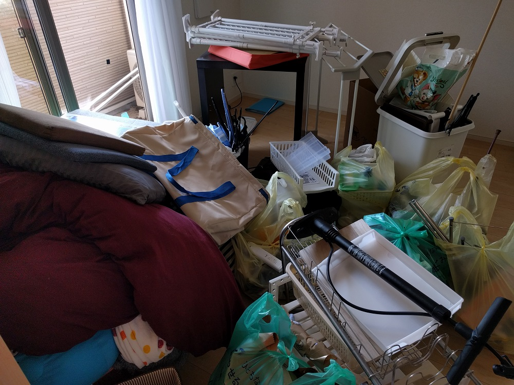 【ひたちなか市】不用品(シングルベッドマットレス、洗濯機、PCデスクなど)処分ご依頼 お客様の声