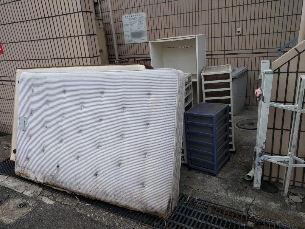 【筑西市】ベッドなど軽トラック1台分の不用品回収