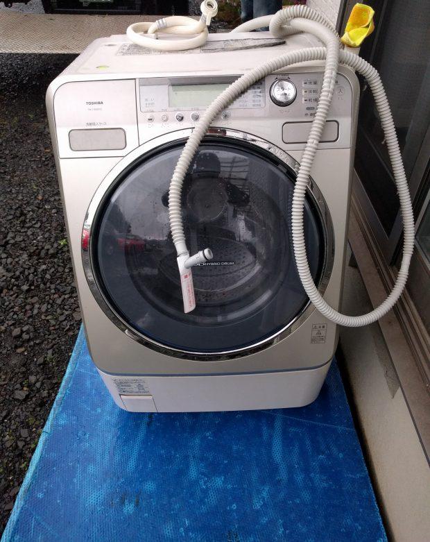 【東茨城郡城里町】洗濯機1点の回収☆ご処分品の状態により回収料金がグッと安くなりお喜びいただけました!
