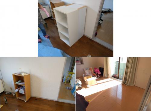 【牛久市】遺品整理に伴う家具(ベッド、ソファー、カラーボックスなど)処分のご依頼 お客様の声
