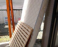 【水戸市本町】ベッドの回収☆希望日での対応や、安くなった料金にご満足いただけました!