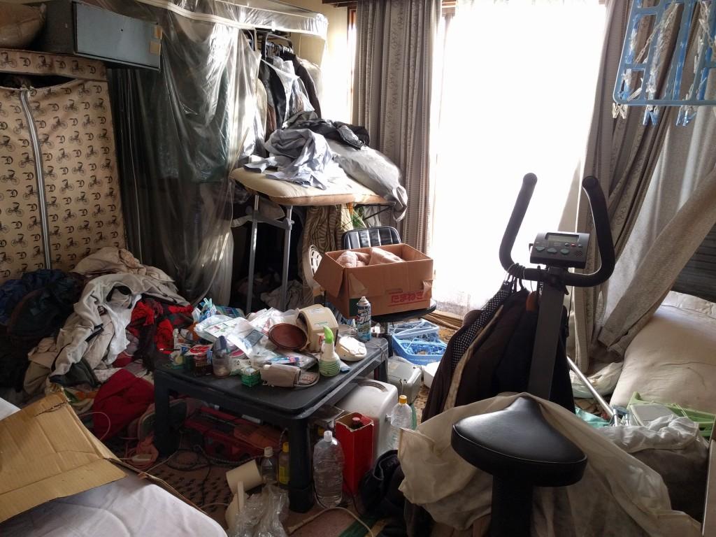【五霞町】遺品整理に伴う6DK2階戸建からの片付け