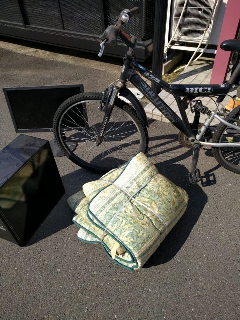 【桜川市】お引っ越しに伴う不用品の回収