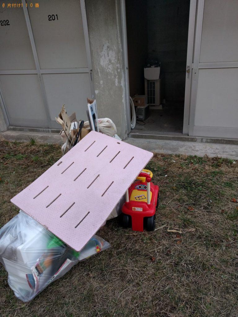 【大子町】軽トラック1台分の家具家電回収 お客様の声