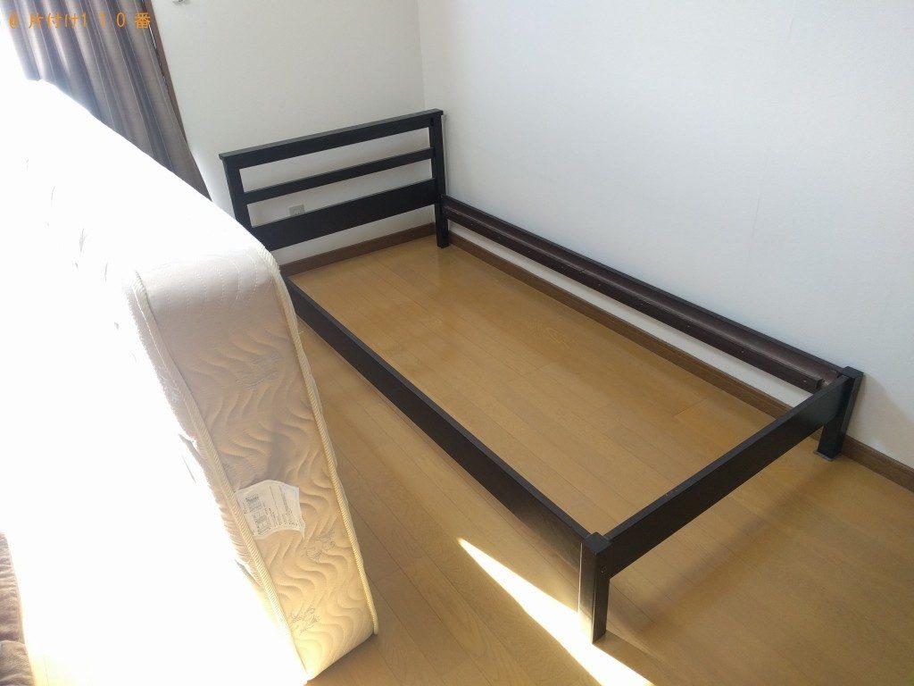 【筑西市】遺品整理に伴いベッドと家電類回収のご依頼 お客様の声