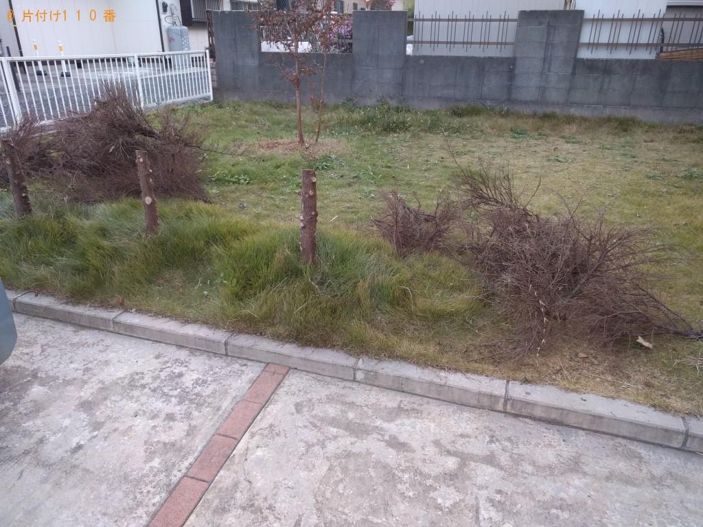 【ひたちなか市】切った後の枝木の回収・処分ご依頼 お客様の声