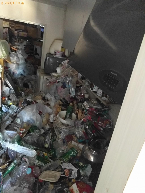 【日立市大みか町】2tトラック1台程度の出張不用品の回収・処分