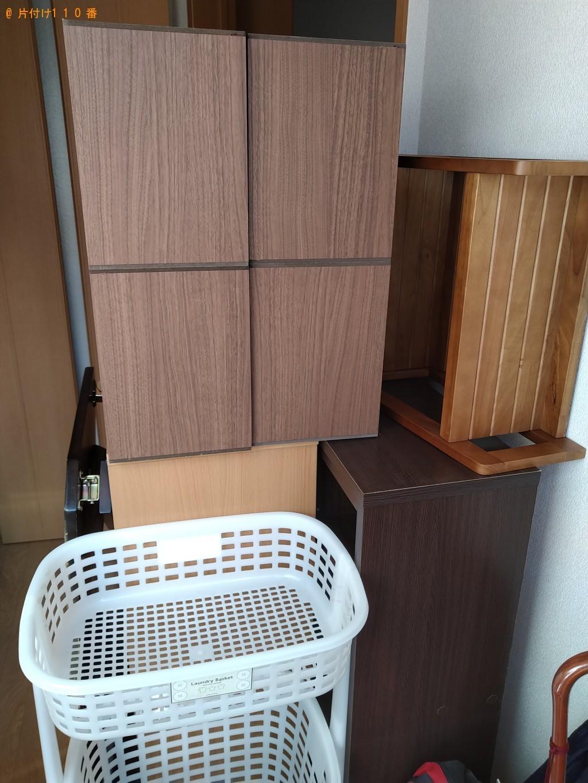 【鹿嶋市】本棚、収納棚、座椅子、カゴ等の回収・処分ご依頼