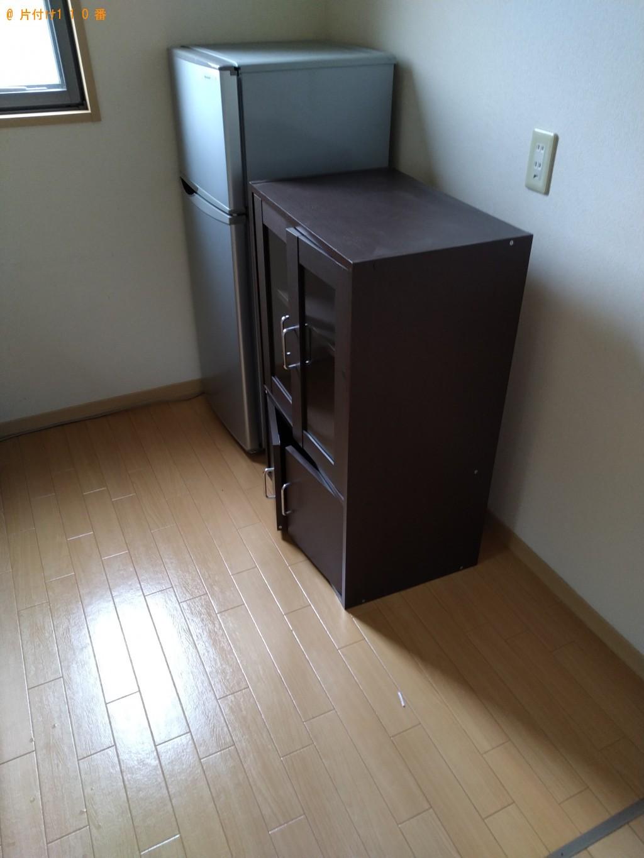 【日立市鮎川町】冷蔵庫、こたつ、本棚、ローテーブル等の回収・処分