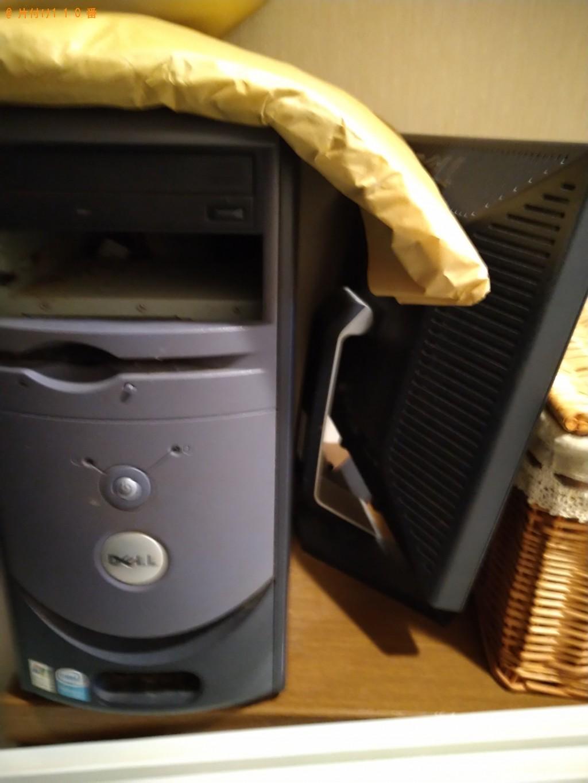 【水戸市元吉田町】PCモニターセット、ロフトベッド等の回収・処分