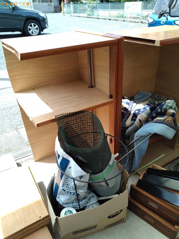 【筑西市】衣装ケース、タンス、サイドボード等の回収・処分ご依頼