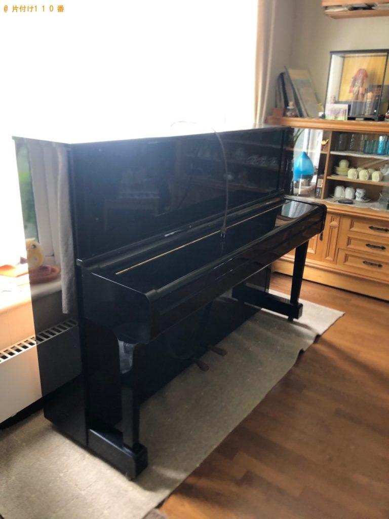 【常総市】ピアノの回収・処分ご依頼 お客様の声
