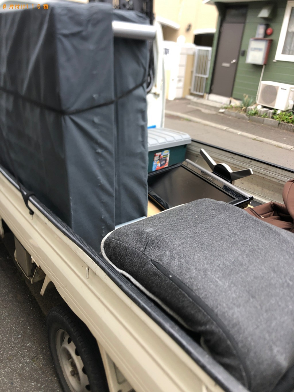 【水戸市】シングルベッド、ベッドマットレス、椅子等の回収・処分
