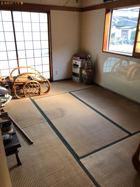 【水戸市】電子レンジ、椅子、炊飯器、カート、布団等の回収・処分