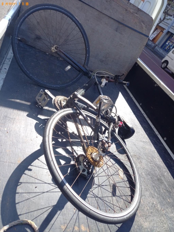 【水戸市】クロスバイクの回収・処分ご依頼 お客様の声