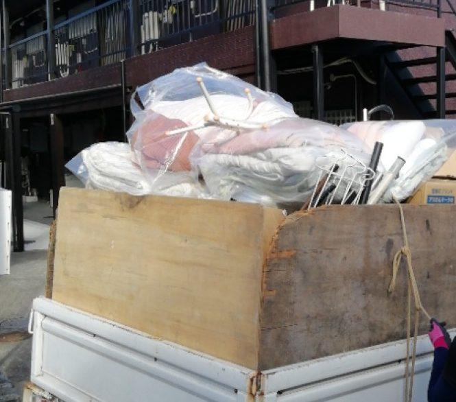 【水戸市】衣装ケース、衣類、食器、調理器具、テーブル等の回収