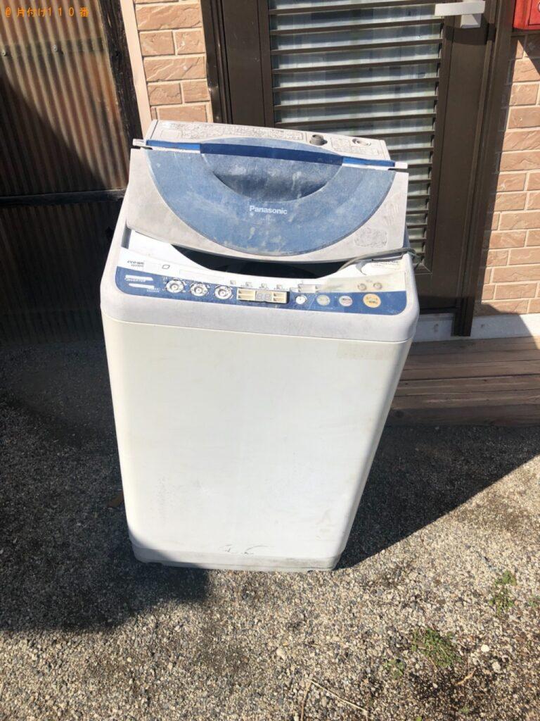 洗濯機、ファンヒーターの回収・処分ご依頼 お客様の声