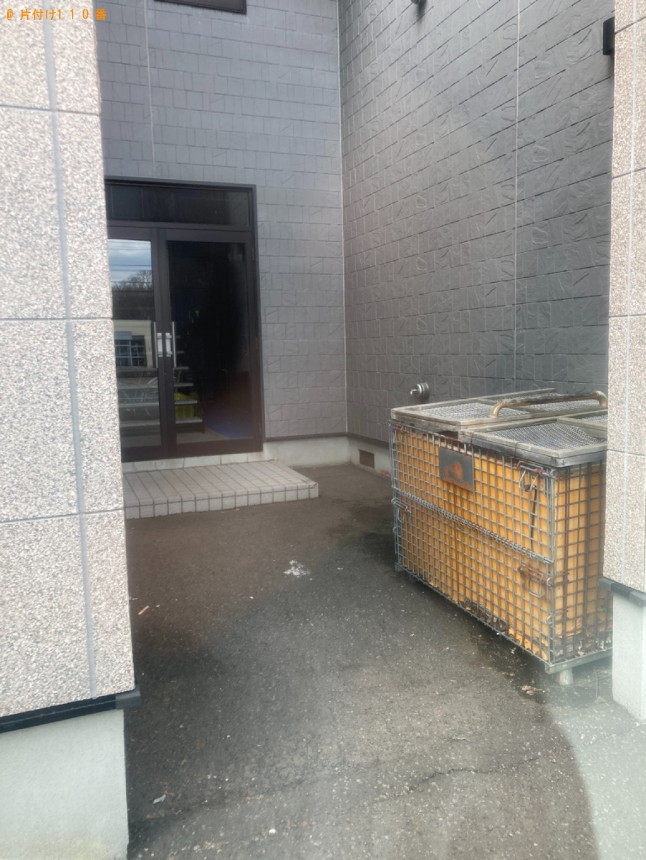 【水戸市】シングルベッドマットレス、カラーボックス等の回収・処分