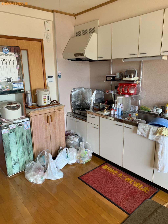【水戸市】神棚、仏壇、布団、衣類収納ケース、鉢植え等の回収・処分
